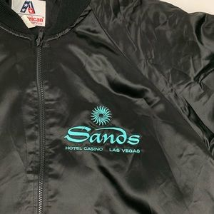 Jackets & Coats - Sands Casino Vintage Men's Jacket.